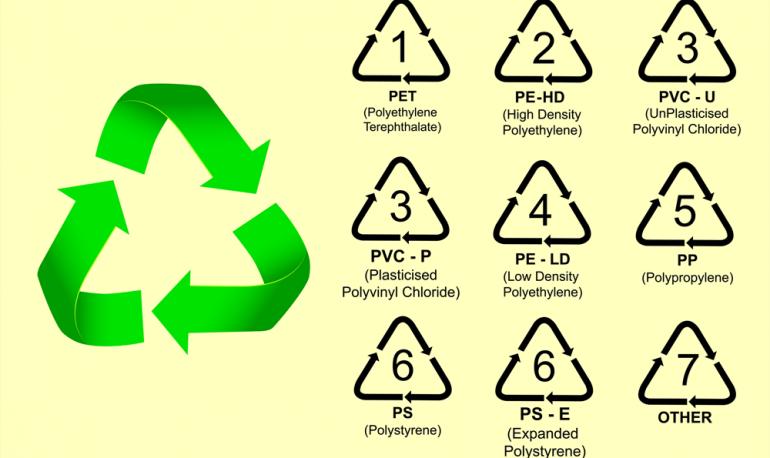 صور انواع البلاستيك بالصور , تعرف على انواع البلاستك الضارة والامنة بالصور
