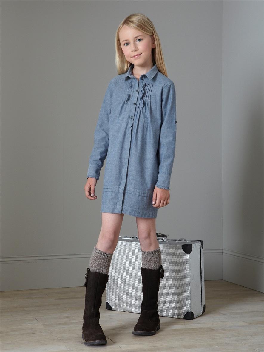 صورة فساتين اطفال شتوى , ملابس شتويه للاطفال 4535 4