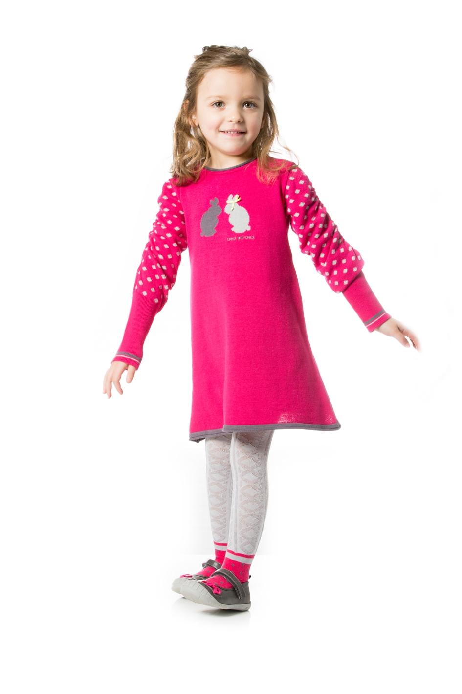 صورة فساتين اطفال شتوى , ملابس شتويه للاطفال 4535 6