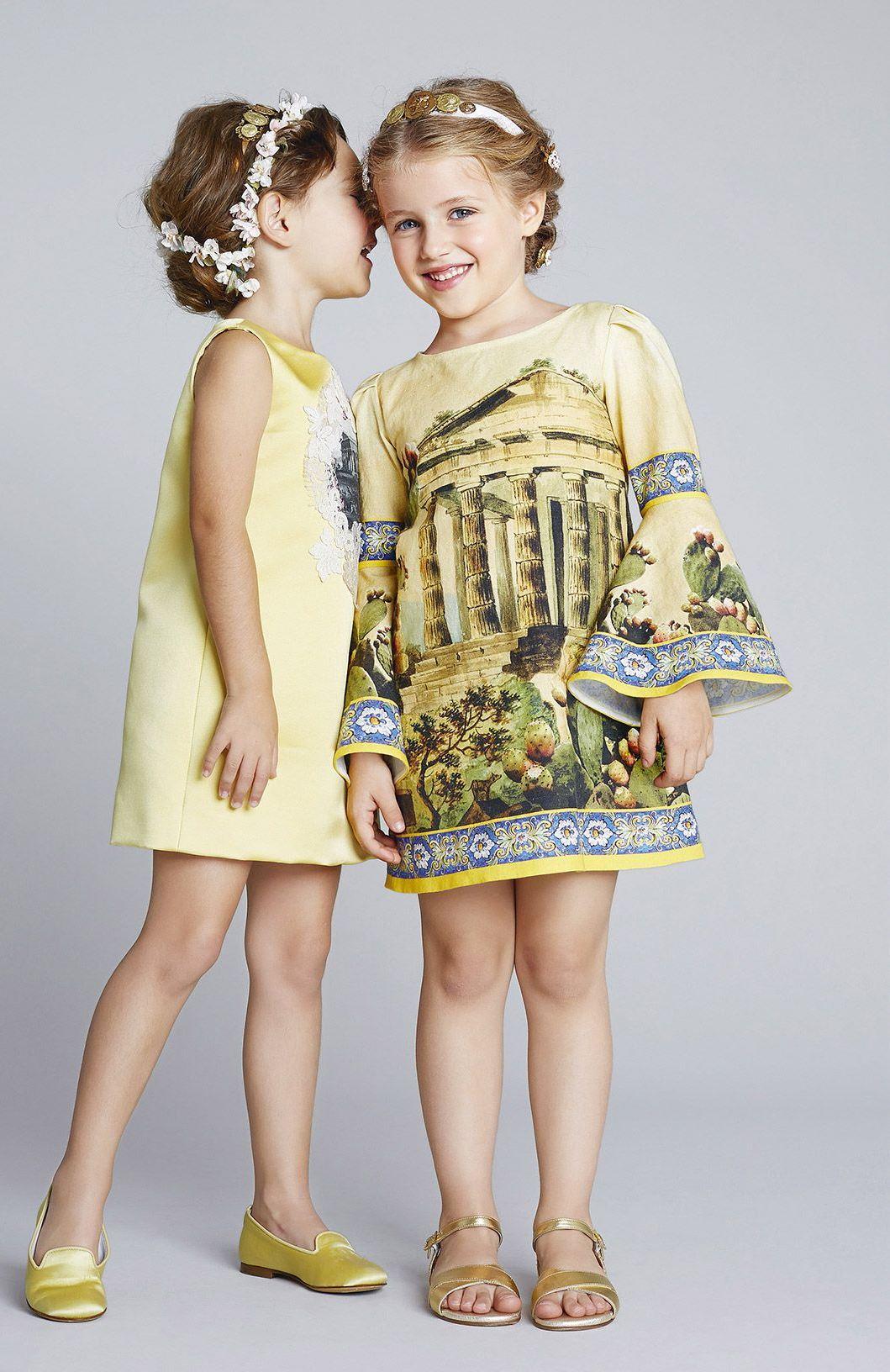 صورة فساتين اطفال شتوى , ملابس شتويه للاطفال 4535 9