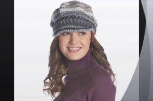 صورة قبعات شتوية للبنات , مودبلات قبعات شتويه كروشيه