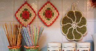 صور اشغال يدوية للمطبخ , اعمال زينة بسيطة للمطبخ من صنع ايدى