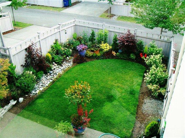 صورة اجمل الحدائق المنزلية الصغيرة , صور ديكور لحديقة المنزل البسيطة