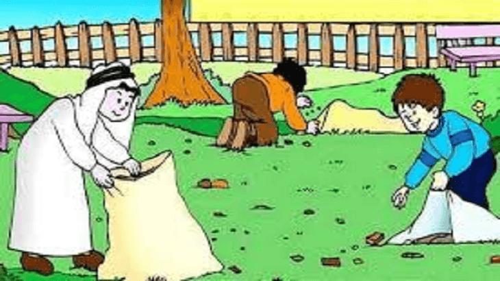 صورة موضوع تعبير عن النظافة , دعوة للاهتمام بالنظافة والحفاظ على البيئة من التلوث