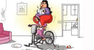 صورة صور عن السمنه , بوستات وصور كاريكاتورية مضحكة عن اصحاب الوزن الزائد