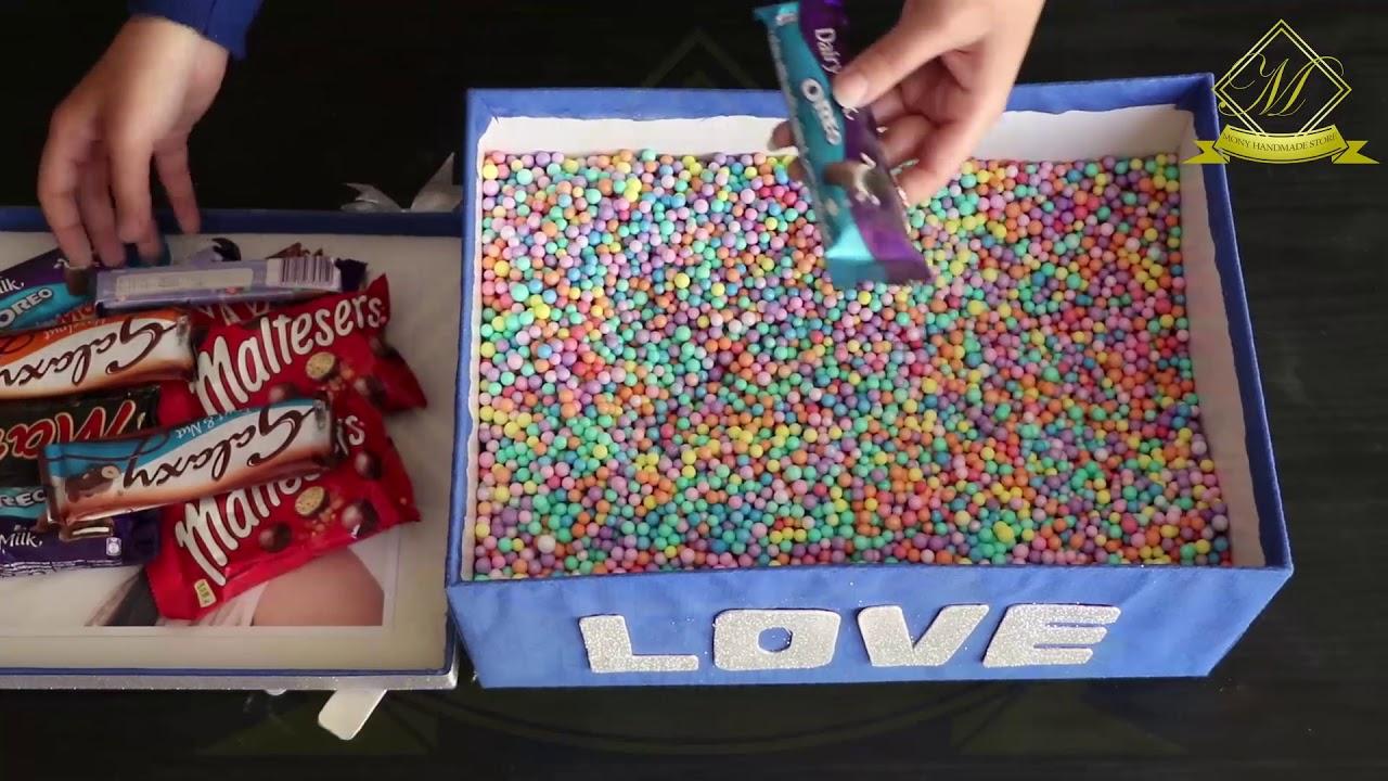 صورة صندوق شوكولاته لصديقتي , مش هتصدقوا جبت هدية ايه لاعز اصحابى