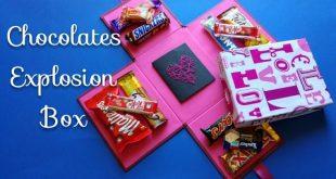 صور صندوق شوكولاته لصديقتي , مش هتصدقوا جبت هدية ايه لاعز اصحابى