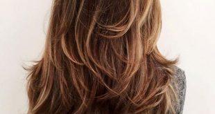 صورة قصات شعر وسط , اكتشفى اجدد قصات شعر 2020