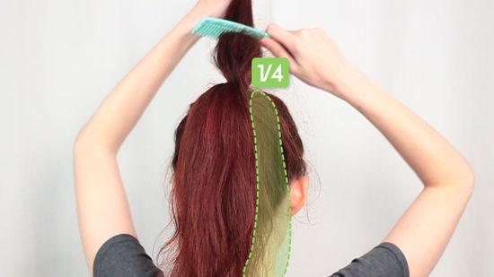 صورة كيف تصنع عقدة الشعر , اصنعى تصفيفة شعر انيقة بنفسك