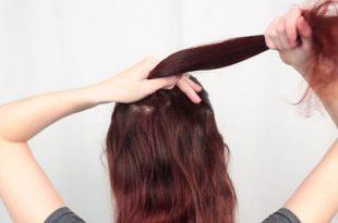 صور كيف تصنع عقدة الشعر , اصنعى تصفيفة شعر انيقة بنفسك