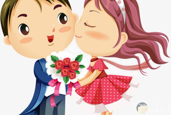 صور كرتون رومنسي صور انيميشن حب ورومانسية شوق وغزل