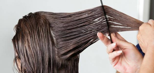 صورة طريقة عمل الكيراتين في البيت , تخلصى من شعرك المجعد بطريقة طبيعية