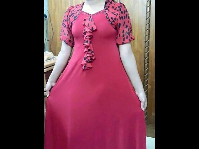 صورة دشاديش نسائية عراقية , تالقى بين النساء العراقيات بهذة الفساتين الراقية
