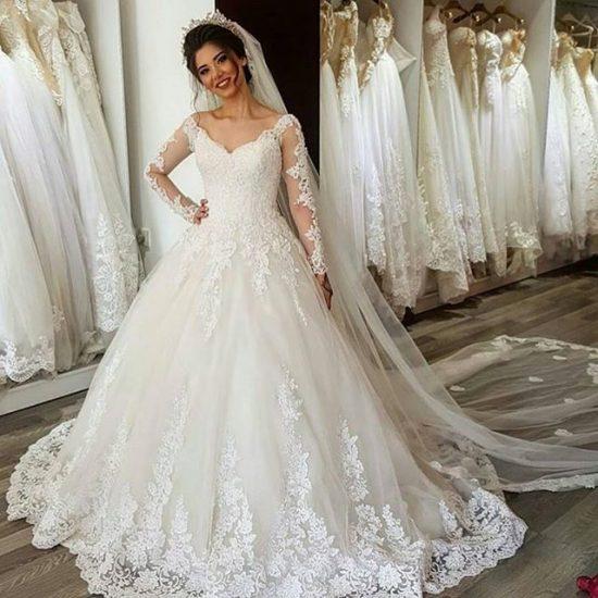 صورة صور فساتين للعروسة , اجمل فستاين لاروع اطلالة