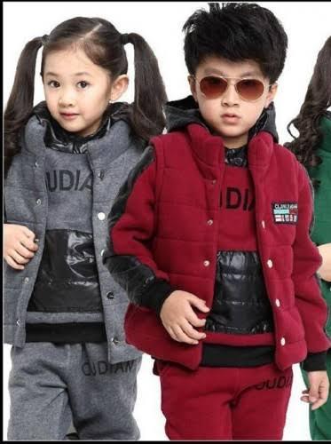 صورة ملابس شتوي للاطفال , اشيك واروع الملابس الشتوى للاطفال 1710 8