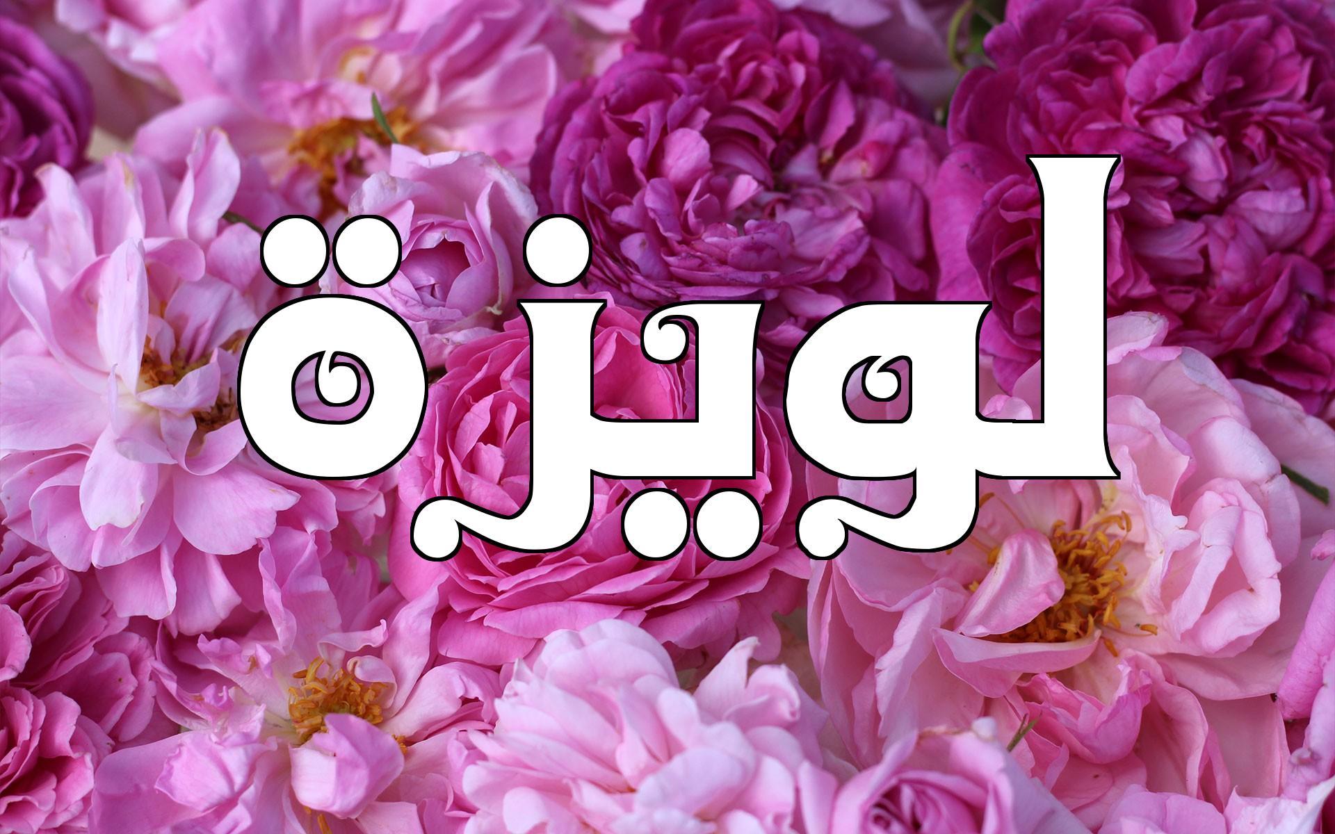 صورة معنى اسم لويزة , جمال اسم لويزه وصفاته