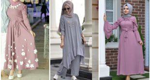 صورة ملابس تركية للمحجبات 2019 , تشكيلة متميزة من الملابس التركية للمحجبات