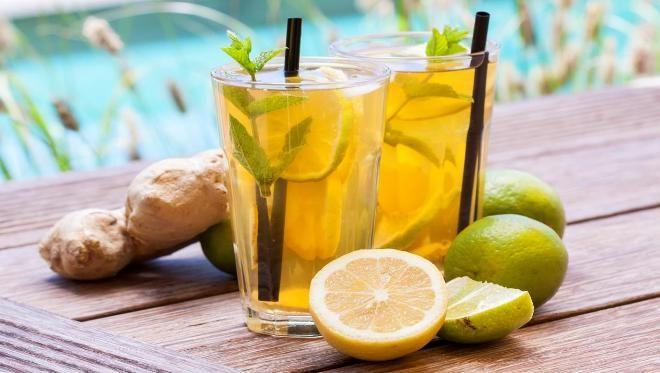 صورة التخلص من الماء الزائد في الجسم بالاعشاب , مشروبات مختلفة للتخلص من الماء الزائد