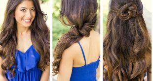 صورة تصفيف الشعر الطويل , الاناقه والجمال انتي وبس