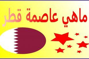 صورة ما هي عاصمة قطر , هيا معروفه جدا