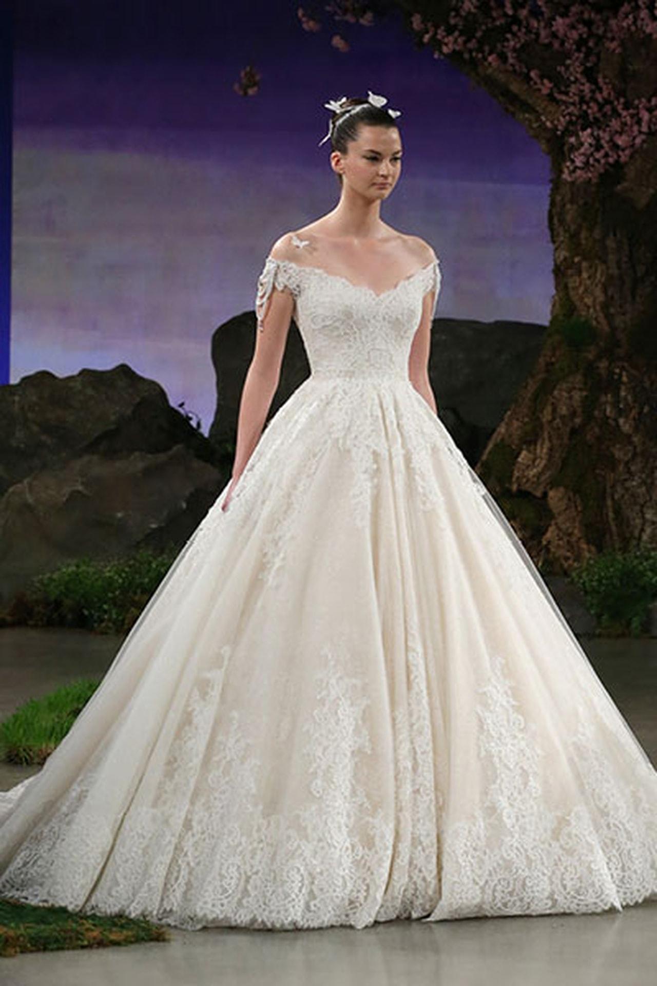 صورة تصميم فساتين زفاف , اجمل اطلالة في فرحك 5122 2