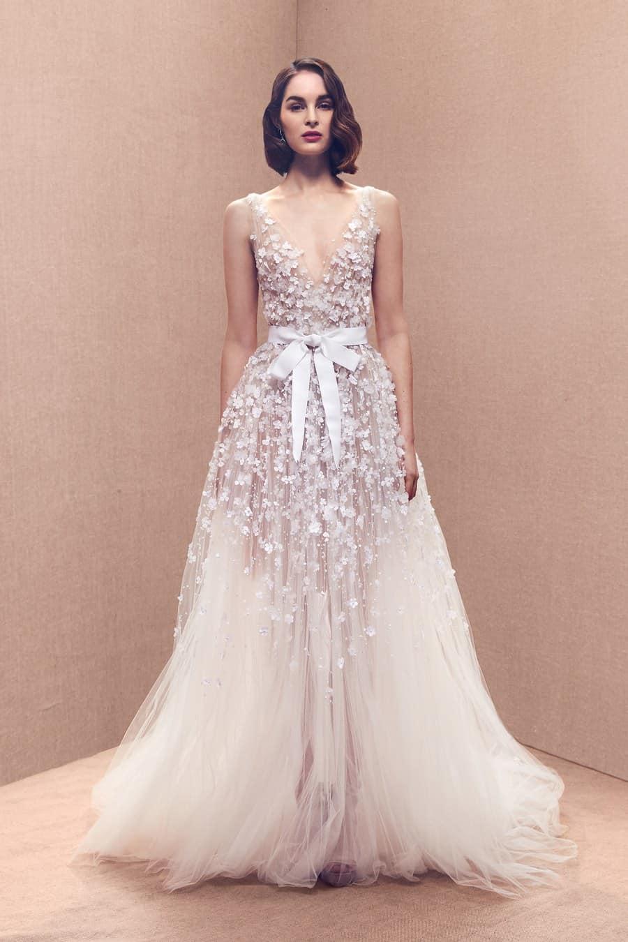صورة تصميم فساتين زفاف , اجمل اطلالة في فرحك 5122 3