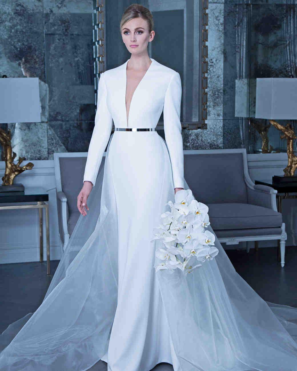 صورة تصميم فساتين زفاف , اجمل اطلالة في فرحك 5122 5