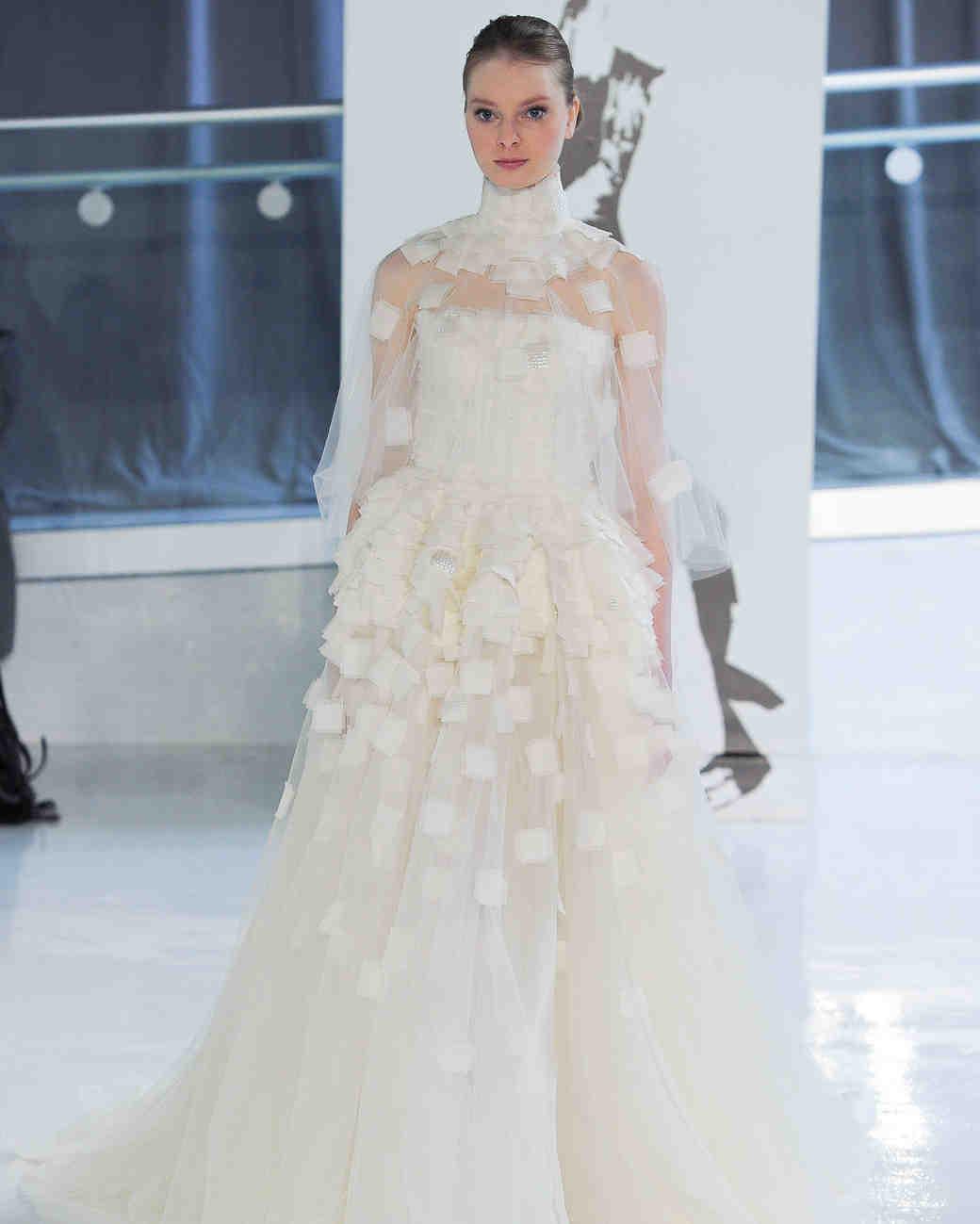 صورة تصميم فساتين زفاف , اجمل اطلالة في فرحك 5122 6