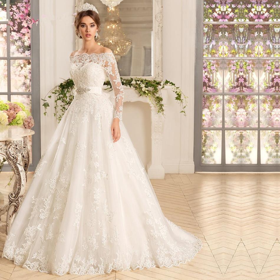 صورة تصميم فساتين زفاف , اجمل اطلالة في فرحك 5122 7