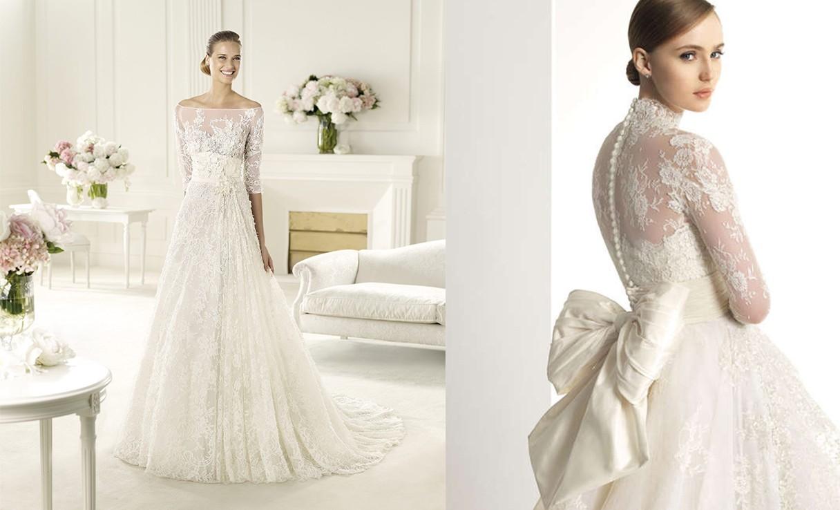 صورة تصميم فساتين زفاف , اجمل اطلالة في فرحك 5122 8