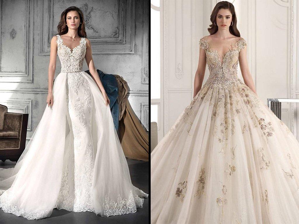 صورة تصميم فساتين زفاف , اجمل اطلالة في فرحك