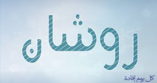 صورة معنى اسم روشان , من اجمل الاسماء روعه