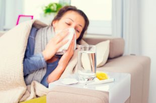 صورة ما هو علاج الانفلونزا , تاتي لنا في الشتاء