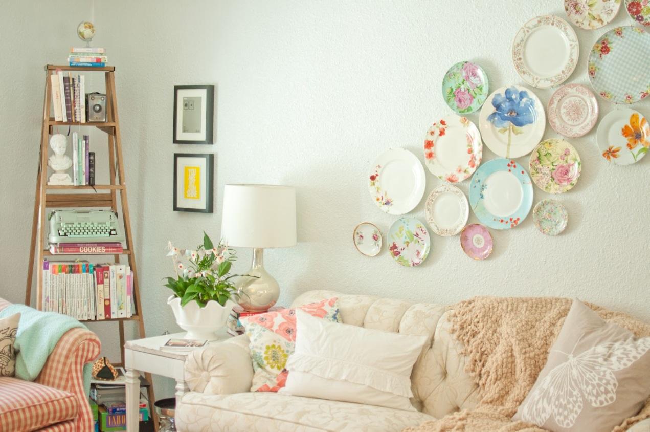 صورة ديكورات منزلية بسيطة وغير مكلفة , كل ست تهتم بذلك