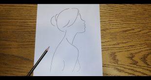 صورة رسومات سهله بالرصاص بالخطوات , احترفى الرسم بالرصاص