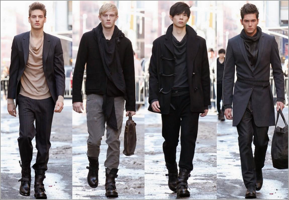 صورة ملابس رجاليه شتويه , الشتاء واشيك ملابس للرجال 5958 4