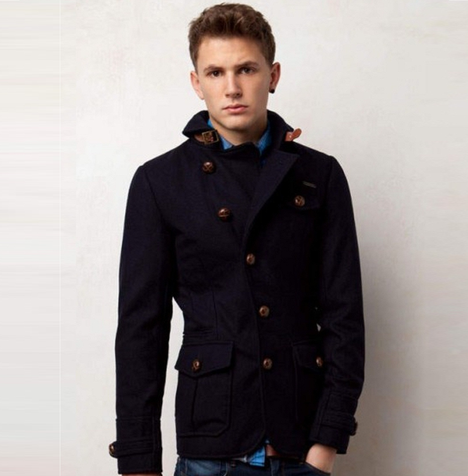 صورة ملابس رجاليه شتويه , الشتاء واشيك ملابس للرجال 5958