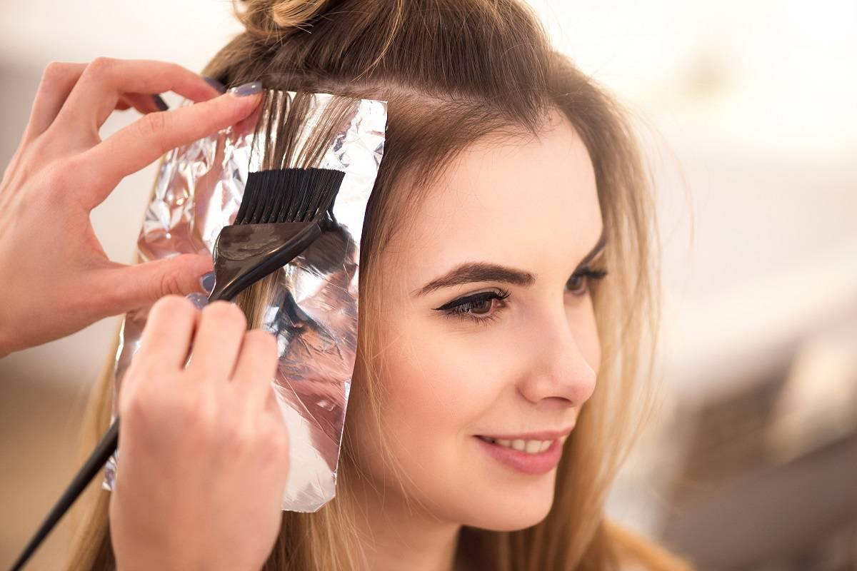 صورة كيفية صبغ الشعر , اصبغى شعرك بايدك