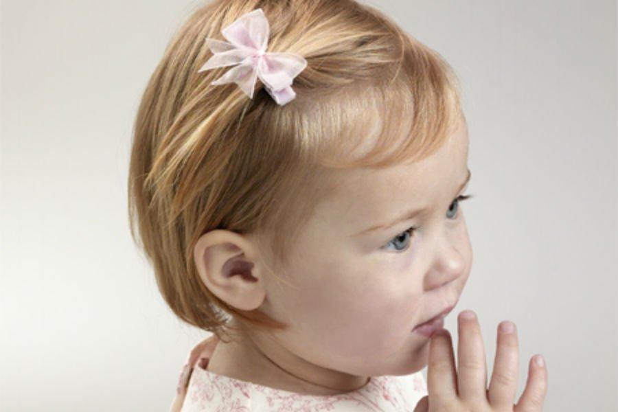 صورة احدث تسريحات الاطفال للشعر القصير , دللى طفلك بتسريحات جديدة