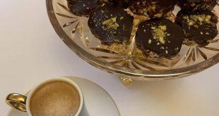 صورة حلى مع القهوه , القهوة مع حلى خفيف