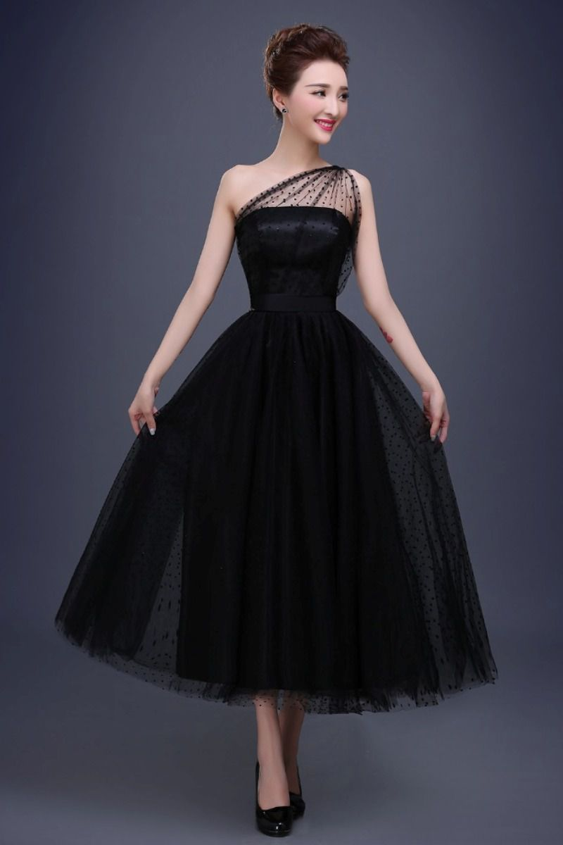 صورة فستان سهرة اسود , اروع فستان سهره باللون الاسود 5352 2