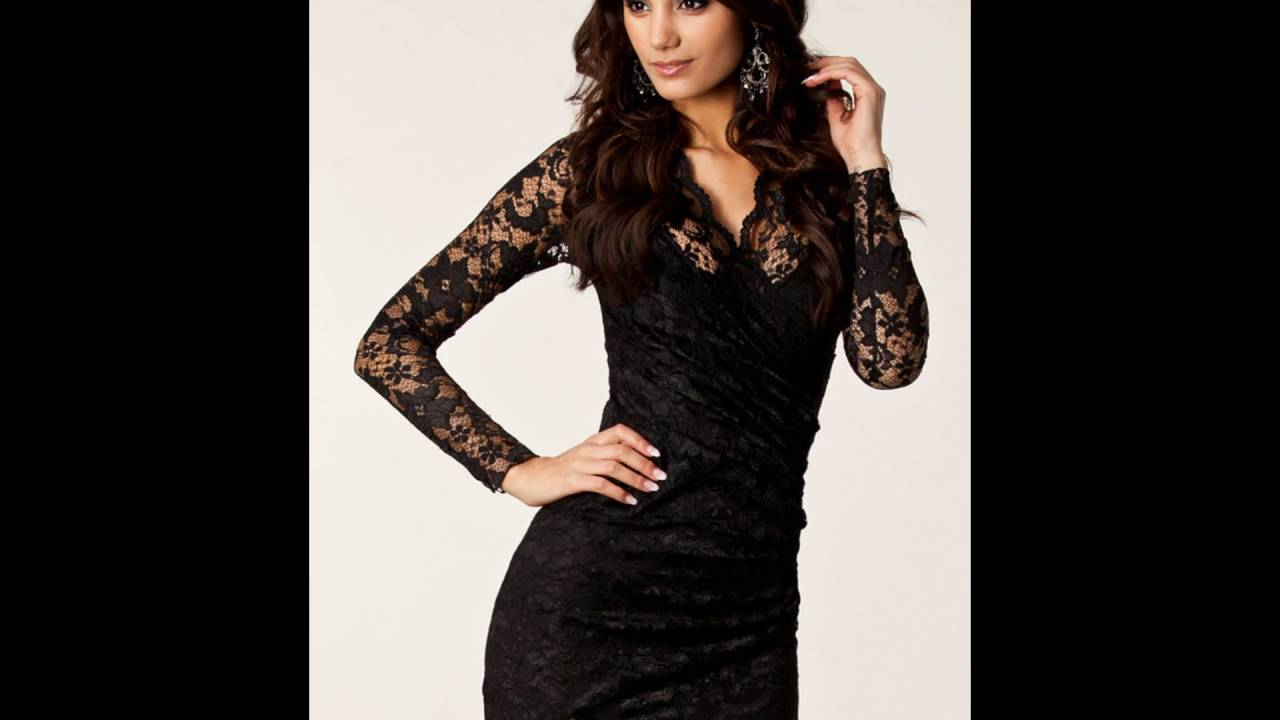 صورة فستان سهرة اسود , اروع فستان سهره باللون الاسود 5352 7