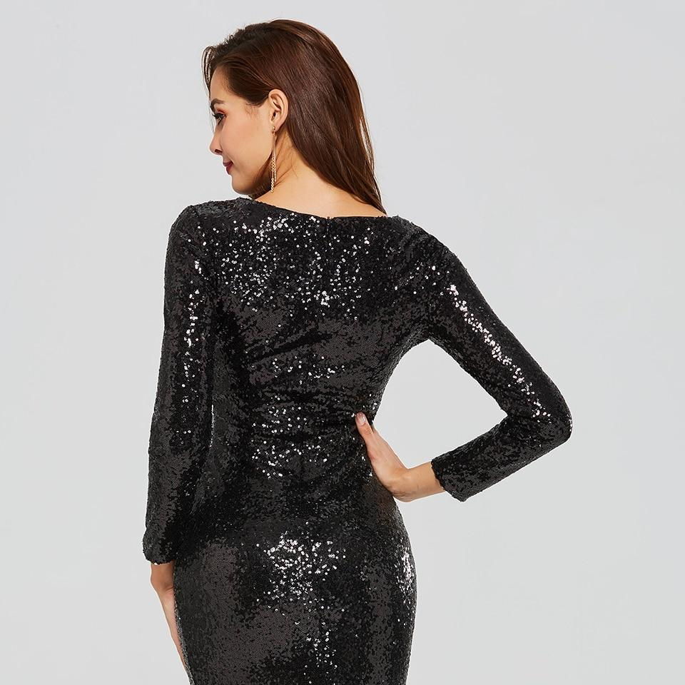 صورة فستان سهرة اسود , اروع فستان سهره باللون الاسود