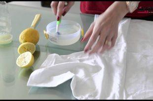 صورة طريقة ازالة البقع من الملابس , فكرى ووفرى فى ازاله البقع