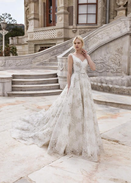 صورة فساتين زفاف تركي،فساتين اسطوريه للعرايس