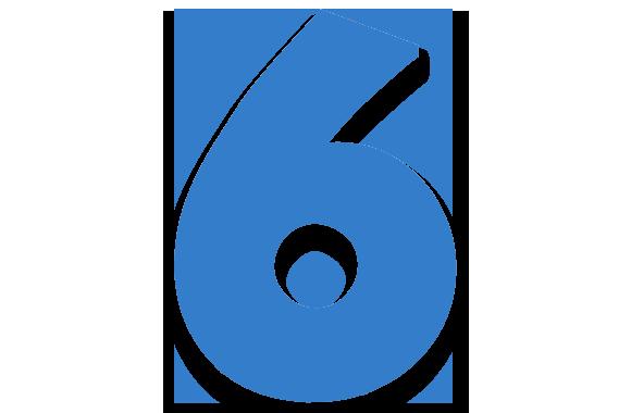 صورة تفسير الرقم 6 في المنام , دلاله رقم 6 في الحلم