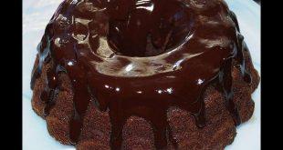 صورة طريقة عمل كيكة الشيكولاتة بصوص الشيكولاته،مكونات كيكه الشكولاته