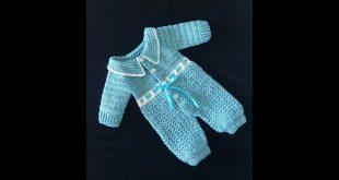 صورة طريقة عمل سالوبيت كروشيه للبيبي،سلوبيت كيوت لحديثي الولاده