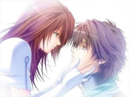 صورة اجمل الصور الانمي الرومانسية،اجمل المشاعر في صور الكرتون