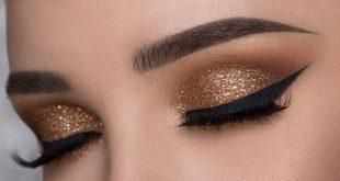 صورة مكياج عيون لبناني،احدث صيحات ميكب العيون